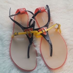 Andrea jelly sandals